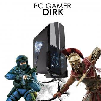 PC Gamer InfoParts DIRK - FX-8300, GTX 1050TI 4GB, 1TB, 8GB RAM DDR4