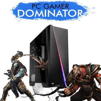 Imagem - PC Gamer InfoParts DOMINATOR - Intel Core i5-7400, R9 380 2GB, 1TB, 8GB RAM