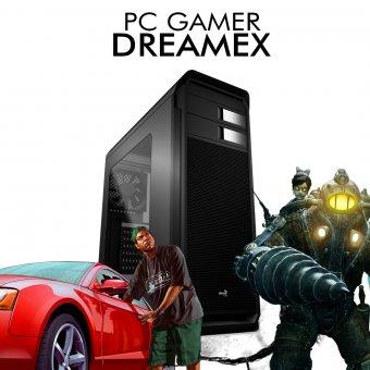 PC Gamer InfoParts DREAMEX - Intel I7 8700, RX 580 8GB, 1TB, 8GB RAM