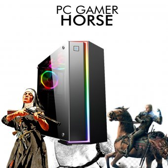 PC Gamer InfoParts HORSE - Intel I7 8700, R9 380 2GB, 1TB, 8GB RAM