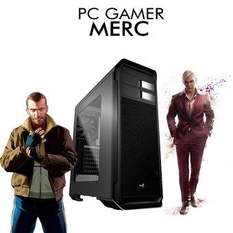 PC Gamer InfoParts Merc - Intel Pentium G5400, RX 550 4GB, 1TB, 8GB RAM DDR4