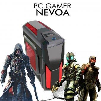 PC Gamer InfoParts Nevoa - Intel Pentium G5400, GTX 1060 6GB, 1TB, 8GB RAM DDR4