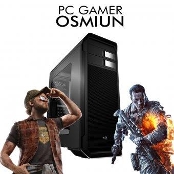 PC Gamer InfoParts Osmiun - Intel CORE I3-8100, Rx 550 4GB, 1TB, 8GB RAM