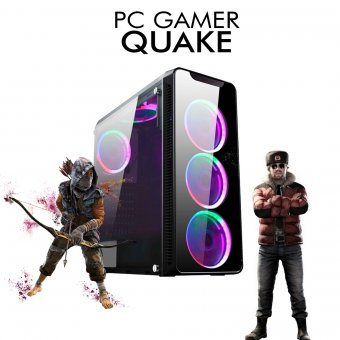 PC Gamer InfoParts Quake - Intel CORE i3-8100, Rtx 2070 8GB, 1TB, 16GB RAM