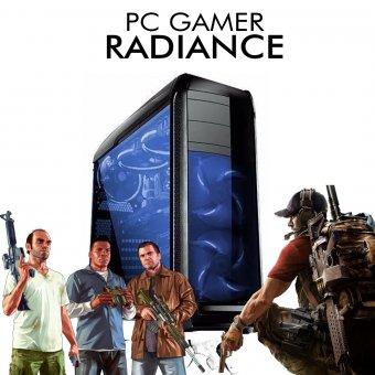 PC Gamer InfoParts Radiance - Intel Core i3-8100, GTX 1050 2GB, 1TB, 8GB RAM