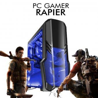 PC Gamer InfoParts Rapier - Intel Core i3-8100, Rx 570 4GB, 1TB, 8GB RAM