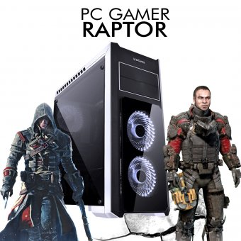 PC Gamer InfoParts RAPTOR - Intel I7 8700, RTX 2070 8GB, 1TB, 8GB RAM