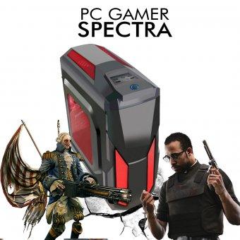 Pc Gamer InfoParts Spectra - Intel CORE I3-8100, Rx 560 4GB, 1TB, 8GB RAM