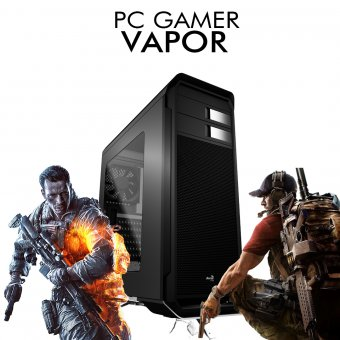 PC Gamer InfoParts Vapor - Intel Pentium G5400, GTX 1660 6GB, 1TB, 8GB RAM DDR4