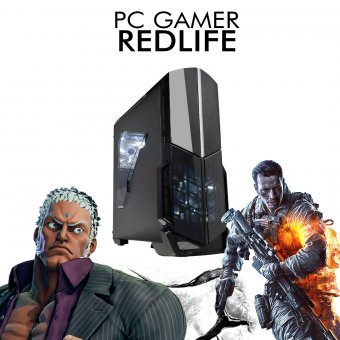 Imagem - PC InfoParts BASIC REDLIFE - FX-8300, 1 TB, 8GB RAM DDR4