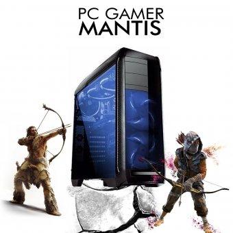 PC InfoParts MANTIS - RYZEN 5 2600X 4.2ghz, 1TB, GTX 1050TI 4GB, 8GB DDR4