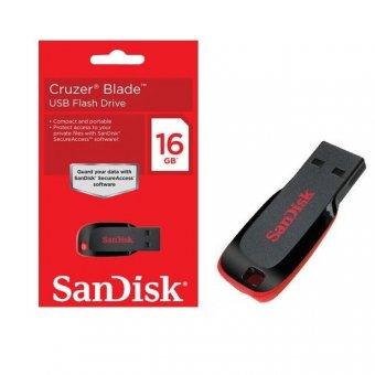 Pen Drive Cruzer Blade Sandisk 16GB Z50