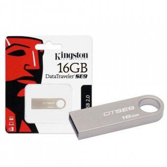 Pen Drive Kingston DataTraveler SE9 USB 2.0 16GB DTSE9H/16GB - Prata
