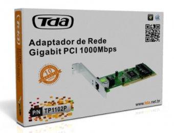 PLACA DE REDE PCI 10/100/1000 TDA TP1102P