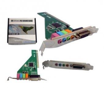 PLACA DE SOM PCI COM 4 CANAIS - SK-CR4280