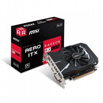 Placa De Vídeo Amd Radeon Rx 560 Aero Itx 4gb Gddr5 Msi - 912-V809-2467