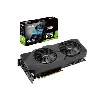 Placa de Vídeo Asus RTX2080 8GB D6 Dual-RTX2080-A8G-EVO 90YV0CL1-M0NA00