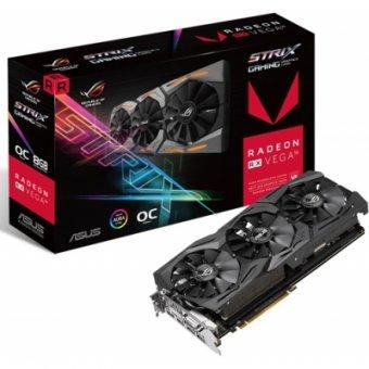 Placa de vídeo Asus RX VEGA 56 8GB HBM2 ROG-STRIX-RXVEGA56-O