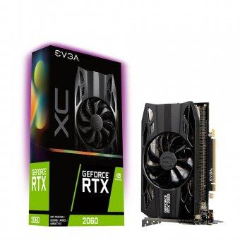Placa de Vídeo EVGA RTX2060 6GB GDDR6 XC 06G-P4-2063-KR