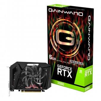 Placa de Vídeo Gainward RTX2060 6GB Pegasus GDDR6 192BITS NE62060018J9-161F