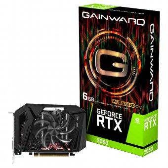 Placa de Vídeo Gainward RTX2060 6GB Pegasus OC GDDR6 192BITS NE62060S18J9-161F