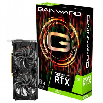 Placa de Vídeo Gainward RTX2070 8GB GDDR6 256BITS NE62070015P2-1062X