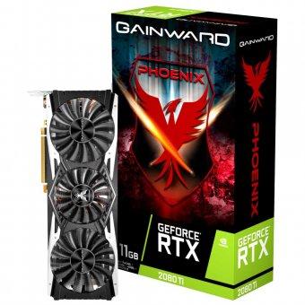 Placa de Vídeo Gainward RTX2080TI 11GB Phoenix GDDR6 352BITS NE6208TT20LC-150X