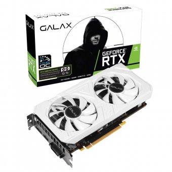 Placa de Vídeo Galax GeForce RTX2060 6GB EX WH 1Click OC G6 Galax 26NRL7HPY3EW