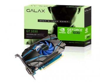 Placa de Vídeo Galax GT1030 2GB GDDR5 64Bits 30NPH4HVQ4ST