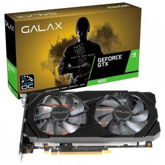 Placa de Vídeo Galax GTX 1660 6GB 1-CLICK OC 60SRH7DSY91C GDDR5