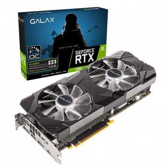 Placa de Vídeo Galax RTX2080 8GB EX 1Click OC G6 256B 28NSL6UCU9EN