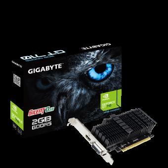 Placa de Vídeo Gigabyte NVIDIA GeForce GT 710 2GB DDR5 - GV-N710D5SL-2GL