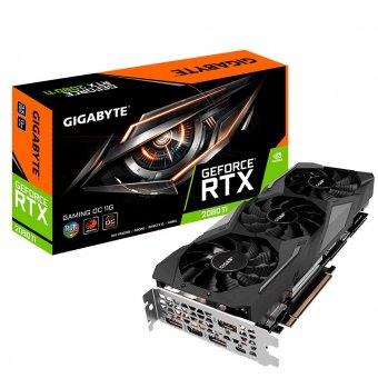 Placa de Vídeo Gigabyte RTX 2080 TI 11GB WINDFORCE 3 GV-N208TWF3-11GC