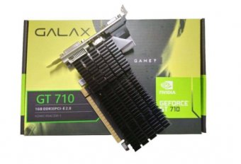 Placa de Vídeo GT 710 1GB D3 64B Galax 71GGF4DC00WG