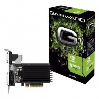 Placa de Vídeo GT 710 2GB GainWard Ddr3 64Bits NEAT7100HD46-2080H