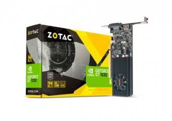 PLACA DE VÍDEO GT1030 2GB 64BITS ZOTAC ZT-P10300A-10L