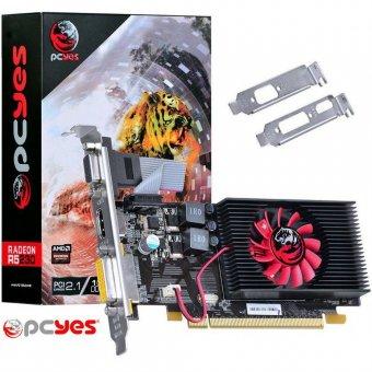 Placa De Vídeo HD 5450 1gb Ddr3 64 Bits Low Profile Pcyes PJ54506401D3LP