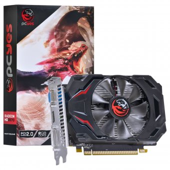 Placa De Vídeo HD 6570 2gb Ddr3 128 Bits Pcyes PJ657012802D3