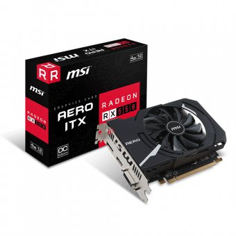 Placa de Vídeo Msi Amd Radeon Rx 550 Aero Itx 4gb 912-v809-2487
