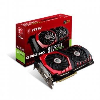 Placa de Vídeo Msi Geforce Gtx 1070 Ti Gaming 8gb Gddr5 912-v330-245
