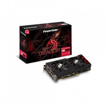 Placa de Vídeo Powercolor Radeon Rx 570 Rd 4gb Axrx-570-4gbd5-3dhd/oc