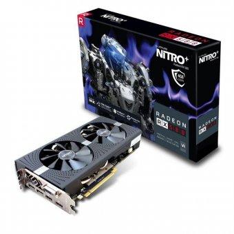 Placa De Vídeo Radeon Nitro Rx 580 Sapphire 11265-07-20G 4Gb Ddr5 256 Bits