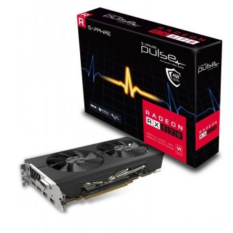 Placa de Vídeo Radeon Pulse Rx 570 Sapphire 11266-04-20G 4Gb Ddr5 256Bits