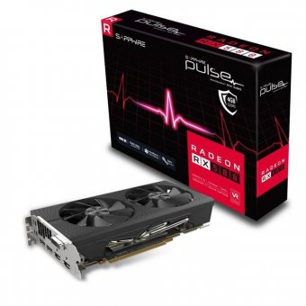 Placa De Vídeo Radeon Pulse Rx 580 Sapphire 11265-09-20G 4Gb Ddr5 256 Bits
