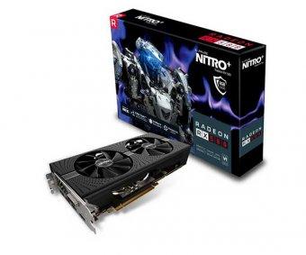Placa de Vídeo Sapphire Radeon Rx 580 Nitro+ 8gb 256bits Gddr5 11265-01-20g