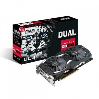 Placa de Vídeo VGA AMD ASUS RADEON RX 580 OC EDITION 4GB DDR5 256 BITS DUAL-RX580-O4G - 90YV0AQ0-M0NA00