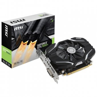 Placa de Vídeo VGA NVIDIA MSI GEFORCE GTX 1050 TI 4G OC 4GB GDDR5 128Bits - 912-V809-2268