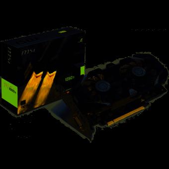 Placa de Vídeo VGA NVIDIA MSI GEFORCE GTX 1050 TI 4G OC 4GB GDDR5 128Bits 912-V809-2268