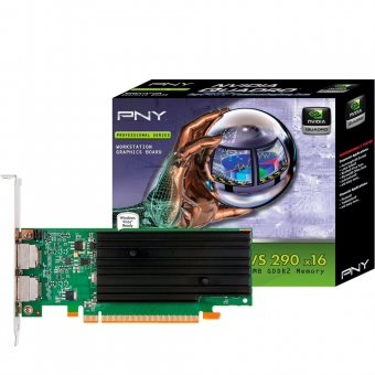 Placa de video Quadro nvidia Pny Quadro Nvs295 X16 Dvi Retail Pci-e - Vcq295nvs-x16-dvi-pb