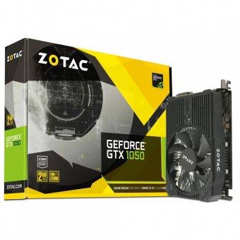 Placa de Vídeo VGA NVIDIA Zotac GEFORCE GTX 1050 2GB GDDR5 128Bits ZT-P10500A-10L